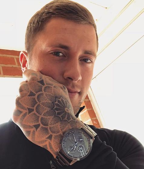 Dan Osborne tattoos