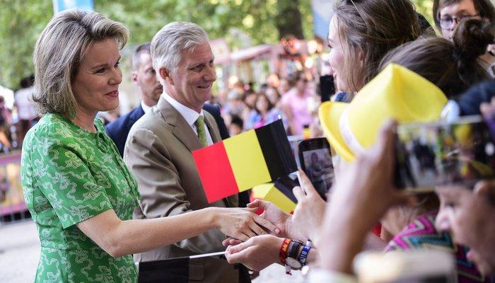 King Philippe Queen Mathilde