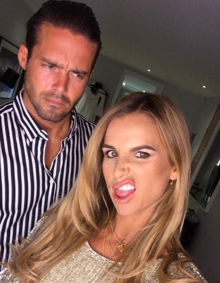 Spencer Matthews and wife Vogue Williams