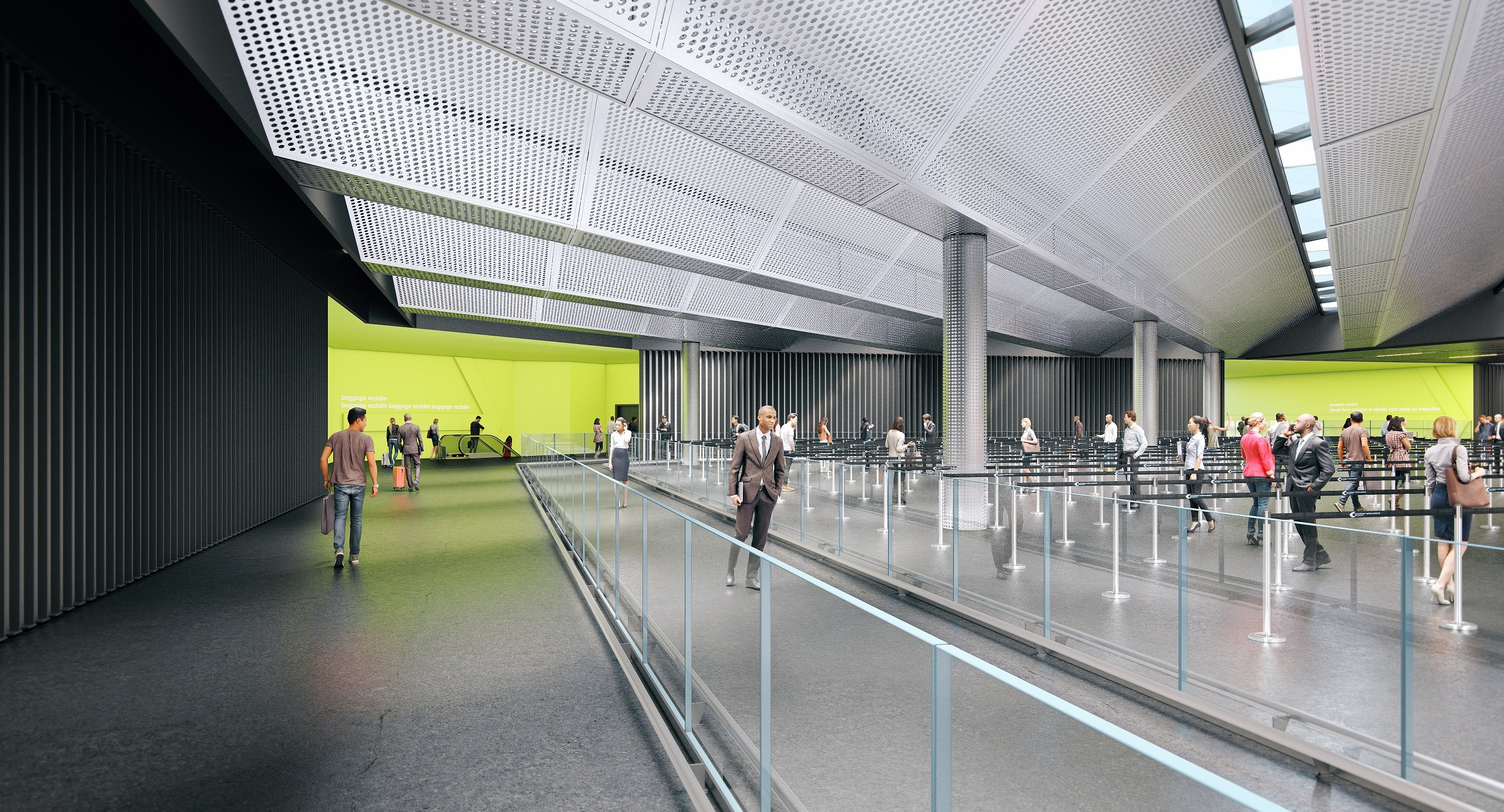 Stansted New Arrivals Terminal 4
