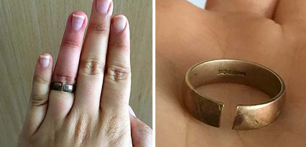 Woman Devastated After Discovering 99 Argos 18ct Gold Wedding Ring