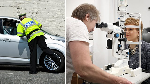 You could lose your driving license if you haven't had an eye test