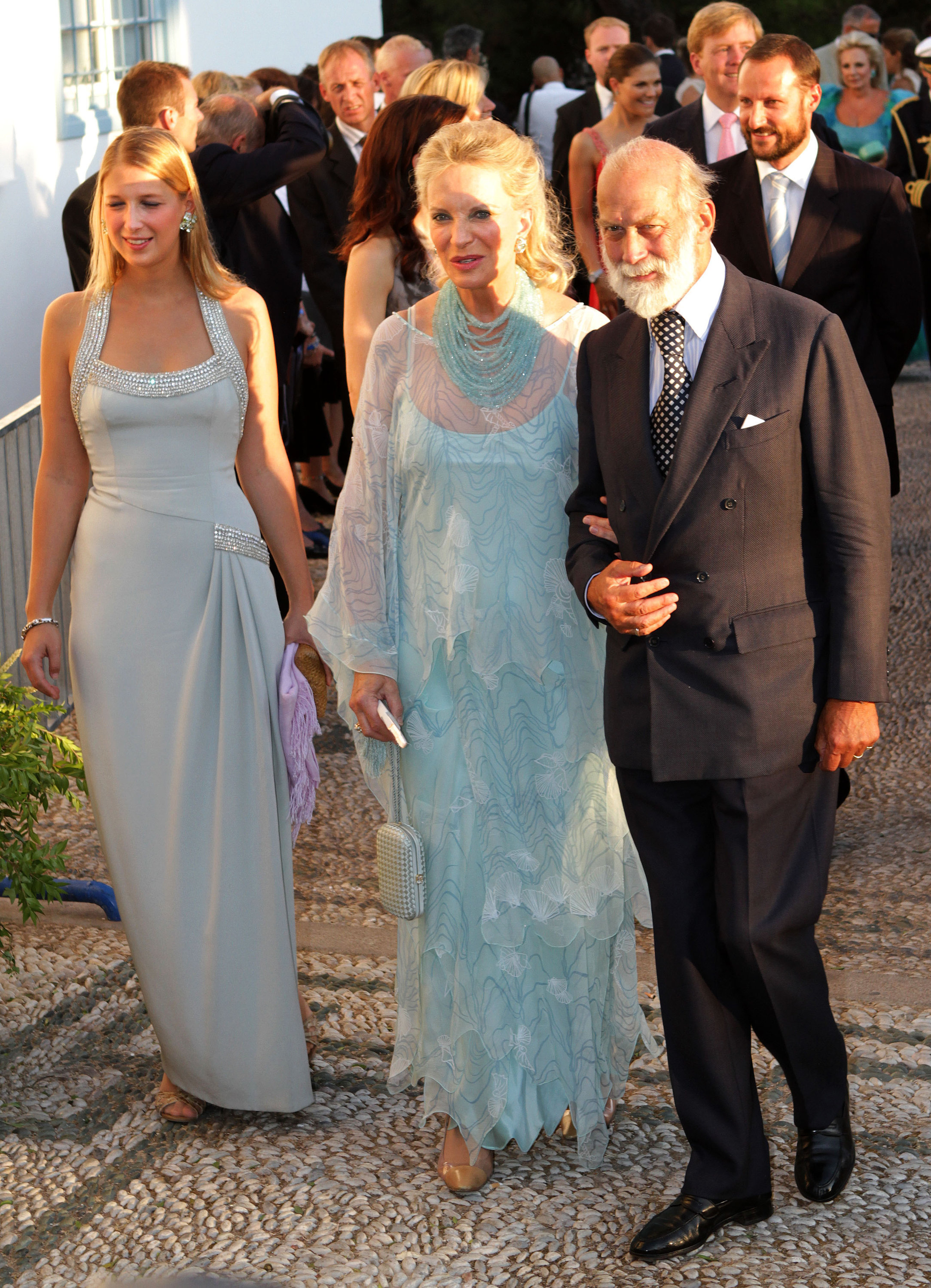 Lady Gabriella Windsor and her parents