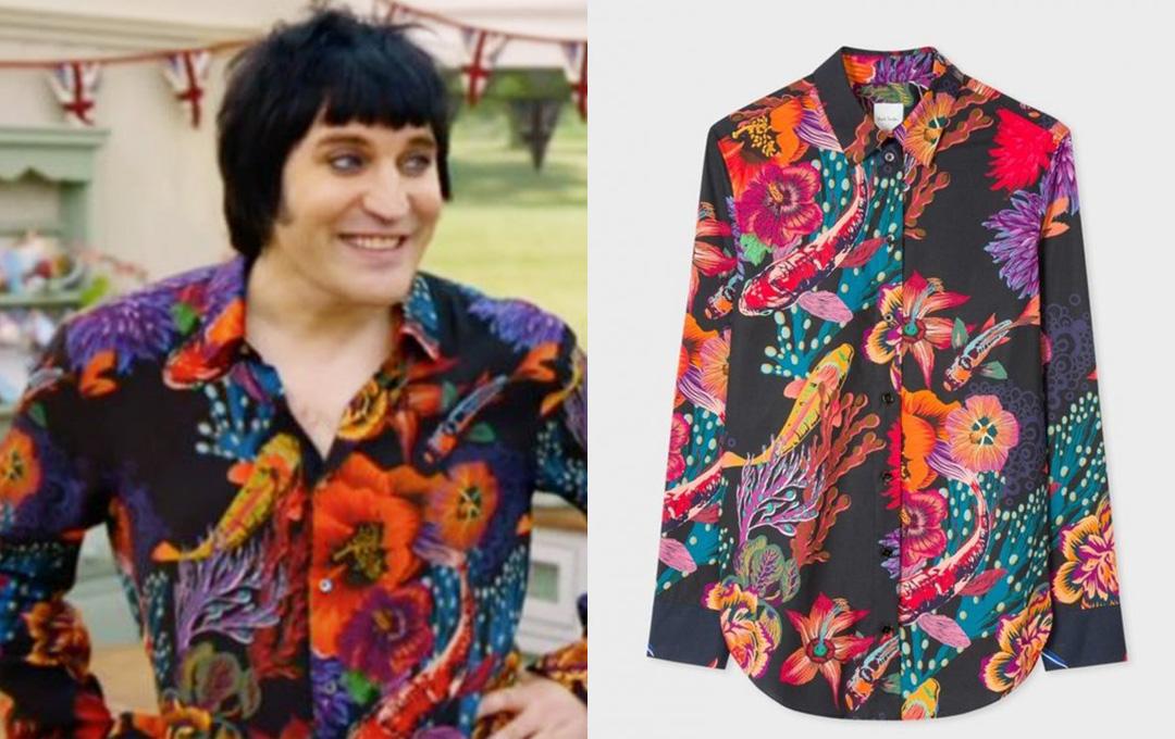Noel Fielding paul smith shirt