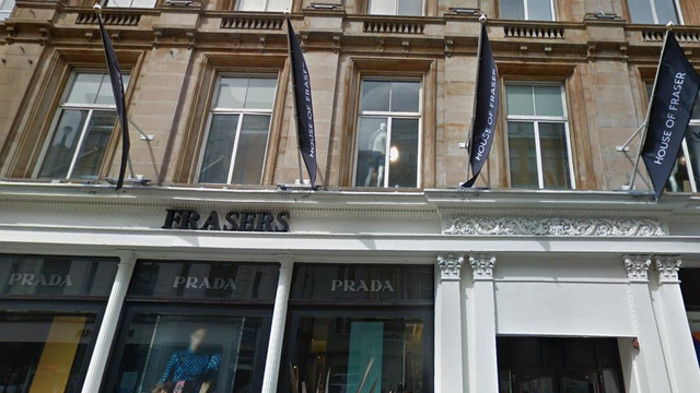 sports direct buys glasgow 39 s frasers building in 95m deal. Black Bedroom Furniture Sets. Home Design Ideas