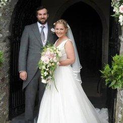Harriette Thompson wedding day