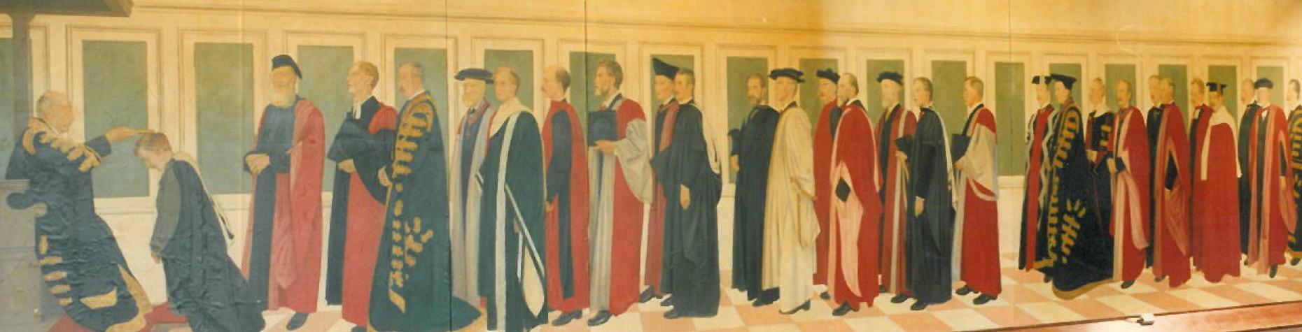 Southampton university mural