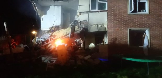 Three People Injured After House Explosion Heart Bristol