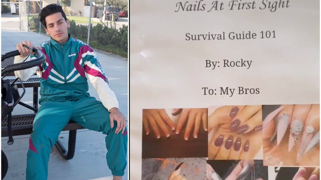 Man creates dating guide for guys based on women's nails