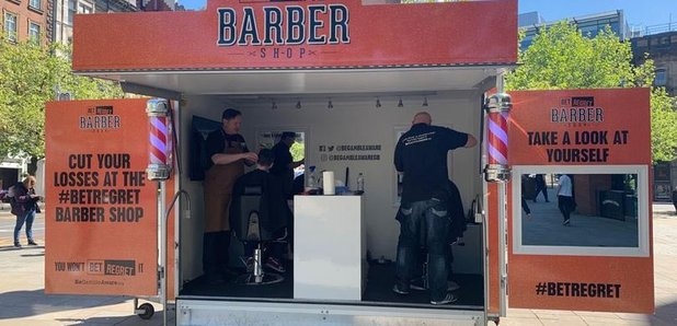 Free hair cuts in Watford with a gamble chat