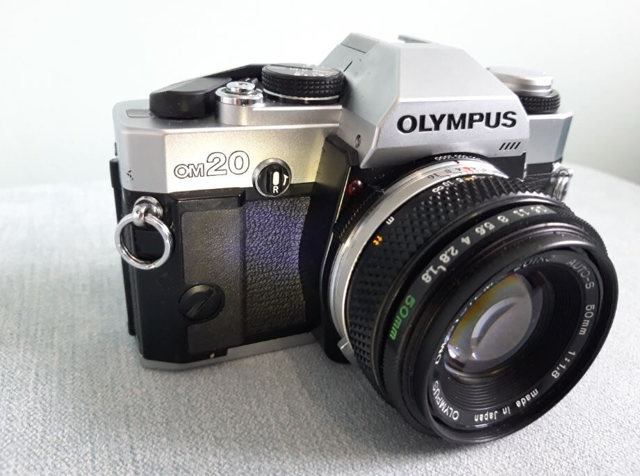 Shelley Morgan camera, 1984