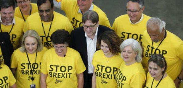 Yorkshire MEP sticks by controversial t-shirts - Heart Yorkshire