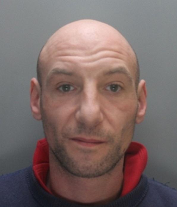 Wanted man Ian Woolcomb
