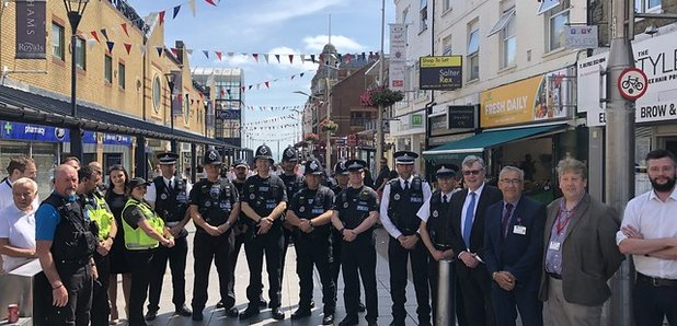 Essex Police launch town centre teams