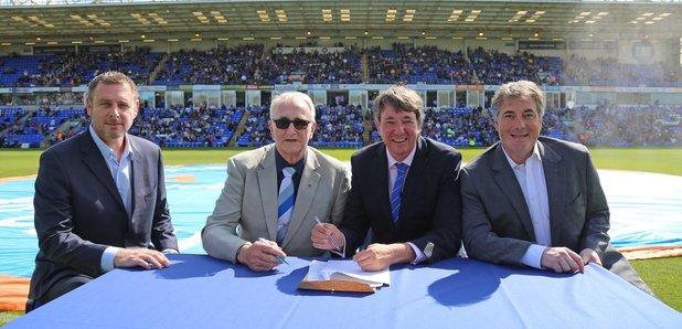 Posh stadium to return to club's hands