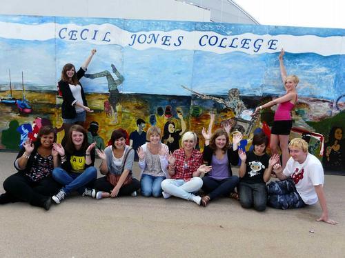 Cecil Jones Students