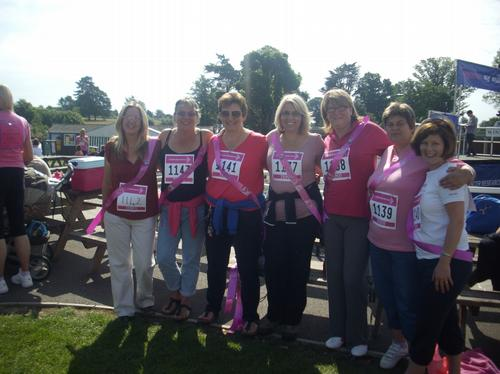 Race For Life Competitors