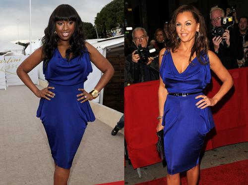 Jennifer Hudson and Vanessa Williams