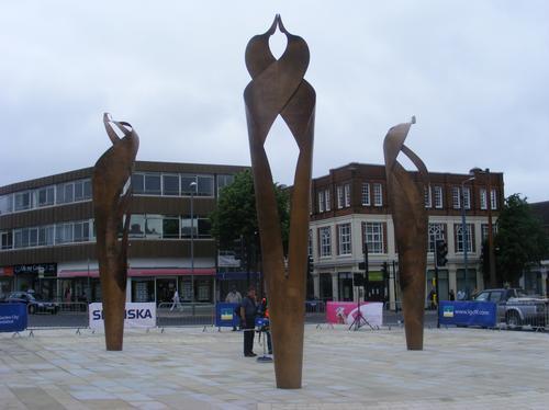 Sculptures in Letchworth