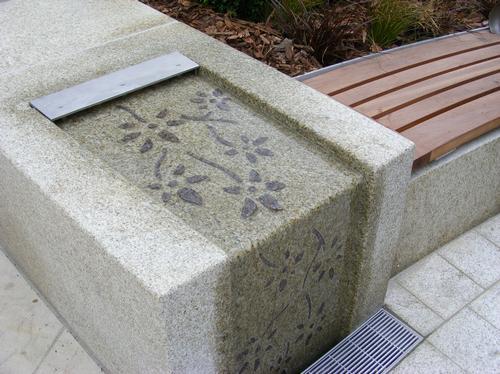 Bench in Letchworth