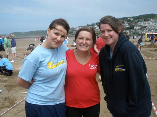 Woolacombe sandcastle competition
