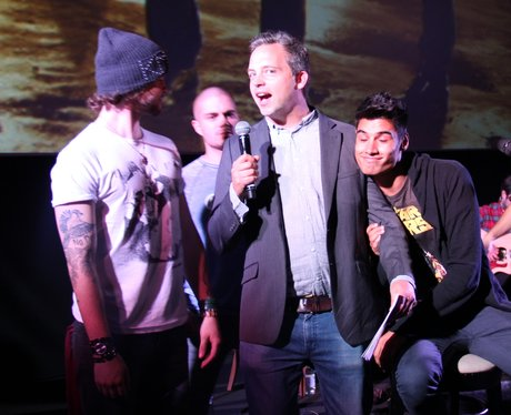 Secret gig with The Wanted