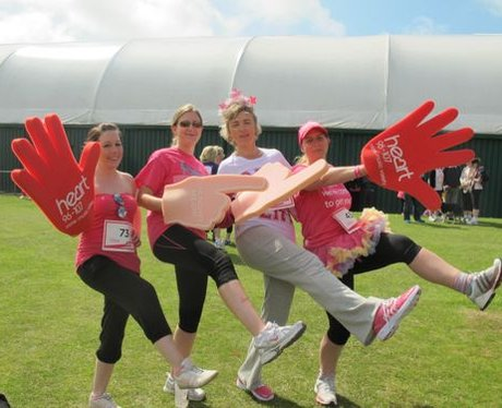 Did you bump into the Heart Angels at Eastbourne R