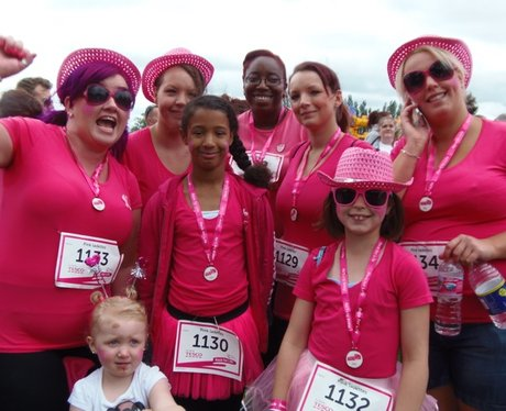 Medals at the Finish Line in Luton