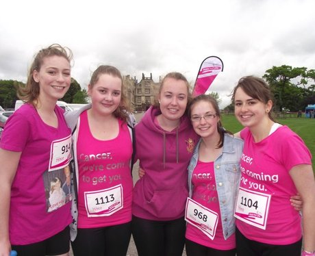 Race for Life Sherborne - Pre Race