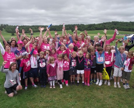 Race for Life Sherborne - The Finishers