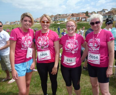 Herne Bay Race For Life - Medals
