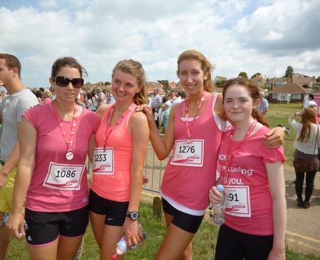 Herne Bay Race For Life - Medals
