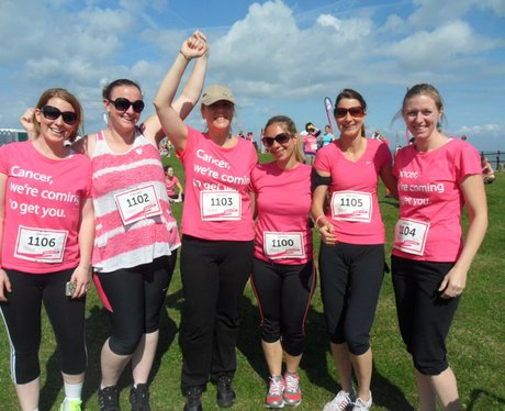 Herne Bay Race For Life - Pre-Race!
